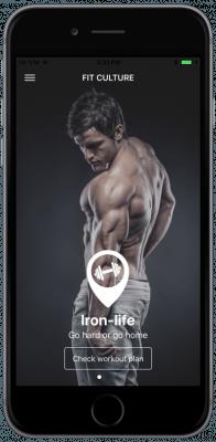 ionic 3 fitness app