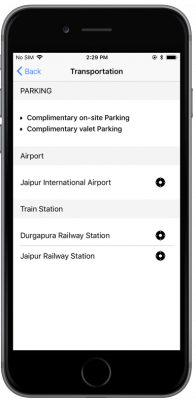 ionic 3 hotel booking app