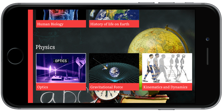 ionic 3 video library app