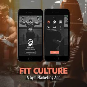 ionic 4 fitness / gym app