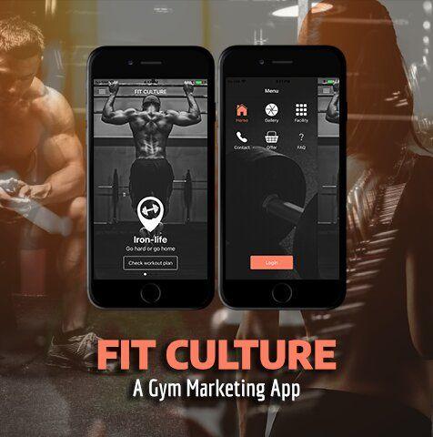 ionic 4 fitness / gym app