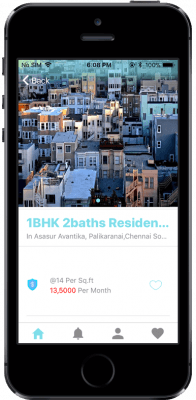 ionic real estate/ flat searching app