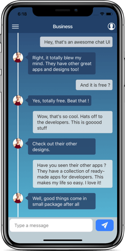 Free chat themes (Ionic 4) - Chatter – Enappd