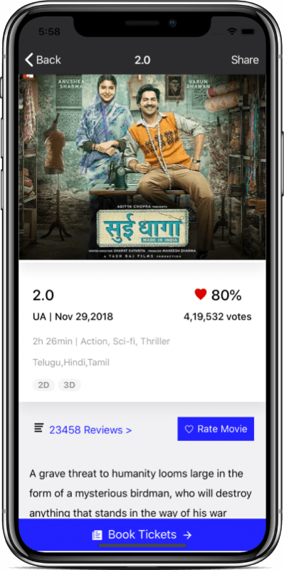 Ticket Booking App Template (Ionic 4) - Evento