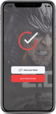 ionic 4 ticket booking app