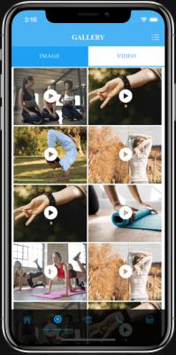 ionic 4 yoga app