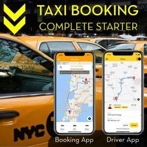 ionic taxi complete platform