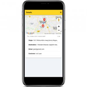 ionic 4 taxi complete platform - admin app