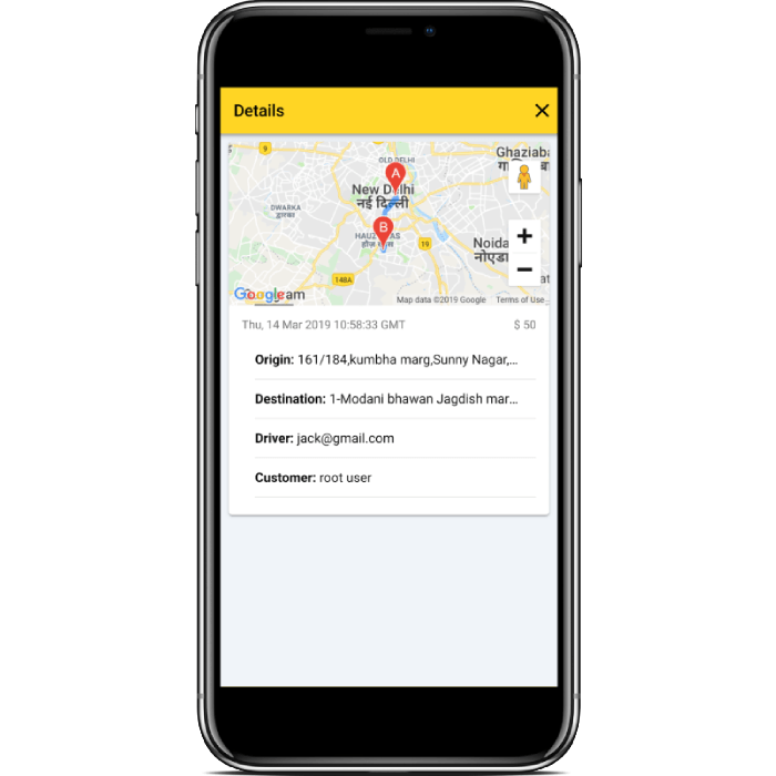 Ionic 4 Taxi Booking Complete Platform - User, Driver and Admin App