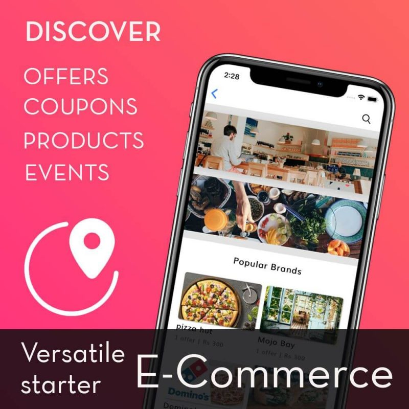 Nearbuy clone (Ionic 4) - E-commerce, Coupon and offer discovery app starter