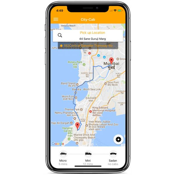 ionic 4 taxi complete starter- user app