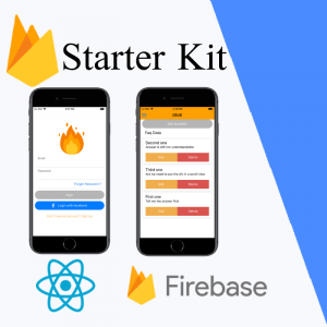 react-native firebase starter