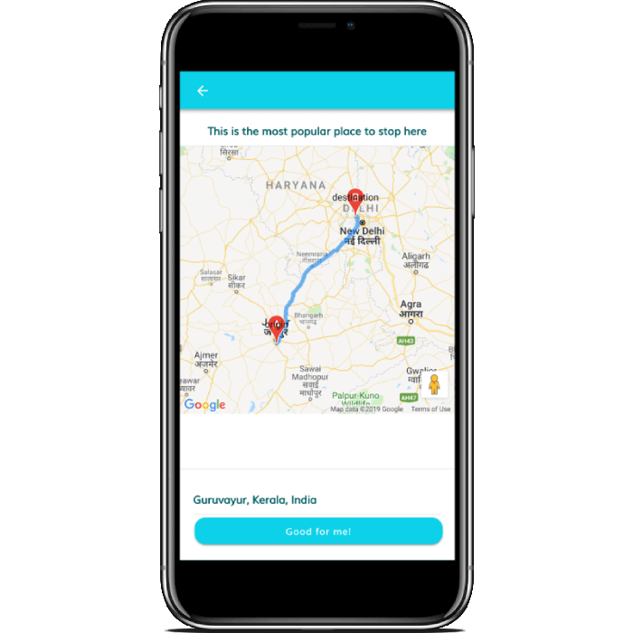 ionic 4 car pooling and sharing app