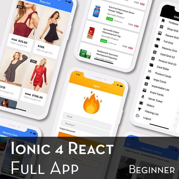 Ionic 4 React Full App in Capacitor