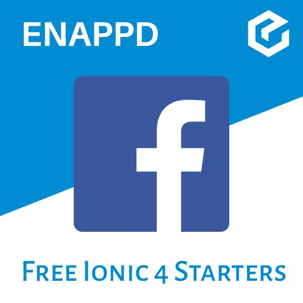 Ionic 4 Facebook Login with Firebase - Starter